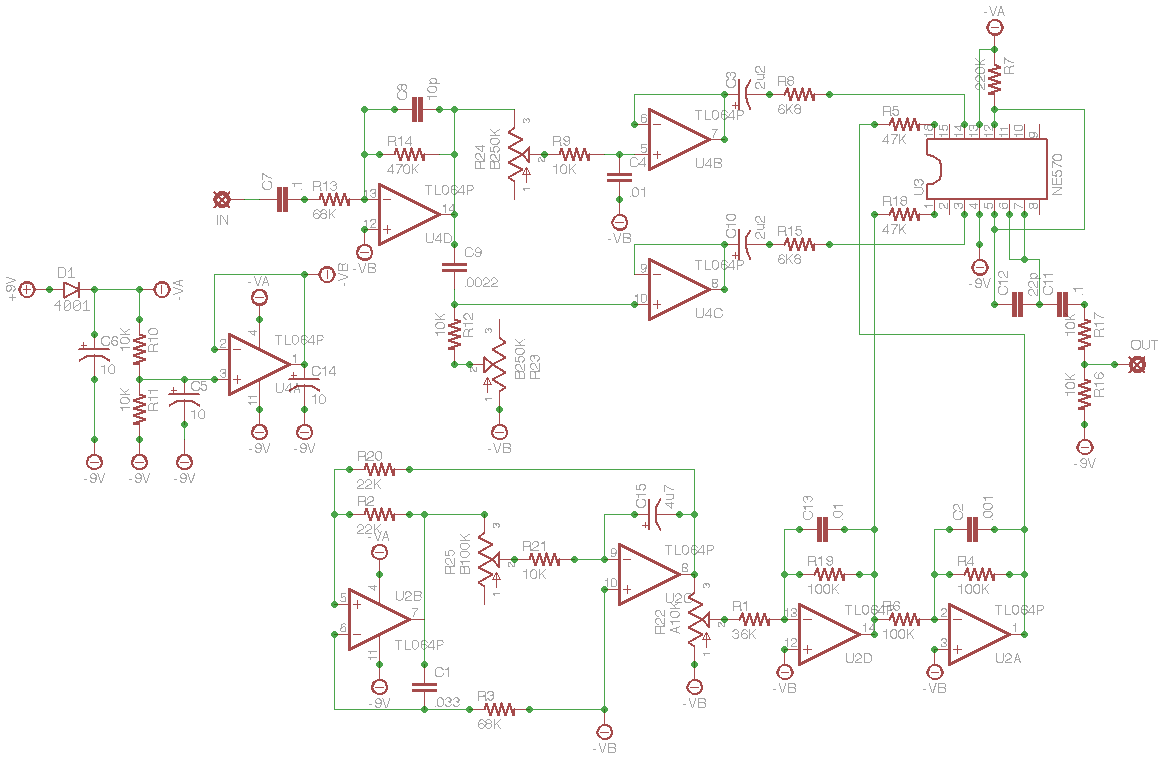 Diysuper Freq Heres A Closeup Of The Wah Circuit Include 5v Regulator And Adjacent Parts I Left These Out My Build Everything Worked Fine Schematic Posted Here